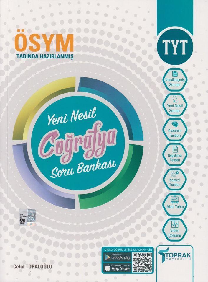 Toprak Yayınları TYT Coğrafya Yeni Nesil Soru Bankası