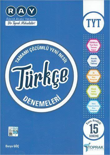 Toprak Yayınları TYT Türkçe Denemeleri
