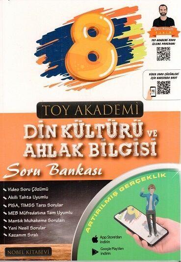 Toy Akademi Yayınları 8. Sınıf Din Kültürü ve Ahlak Bilgisi Soru Bankası