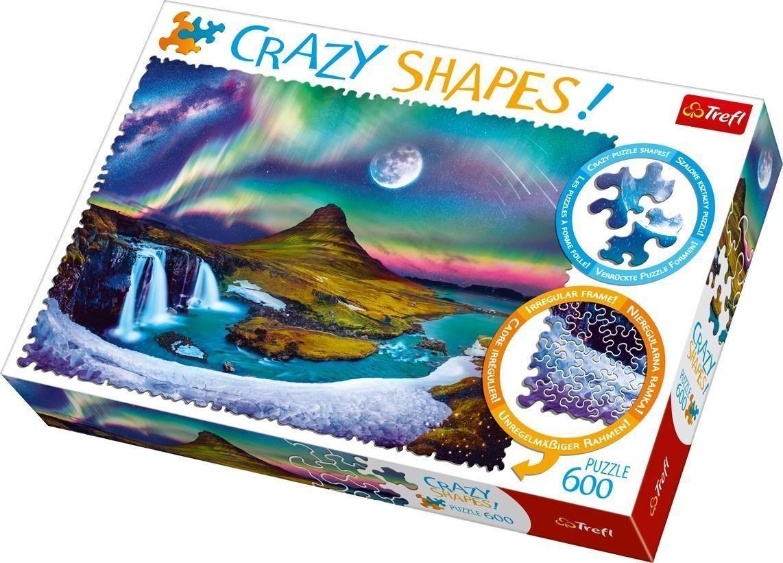 Trefl Puzzle Aurora Over Iceland 600 Parça Çılgın Şekilli