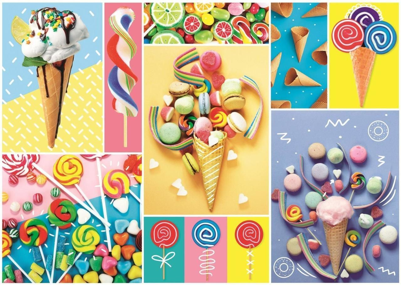 Trefl Puzzle Favorite Sweets 500 Parça