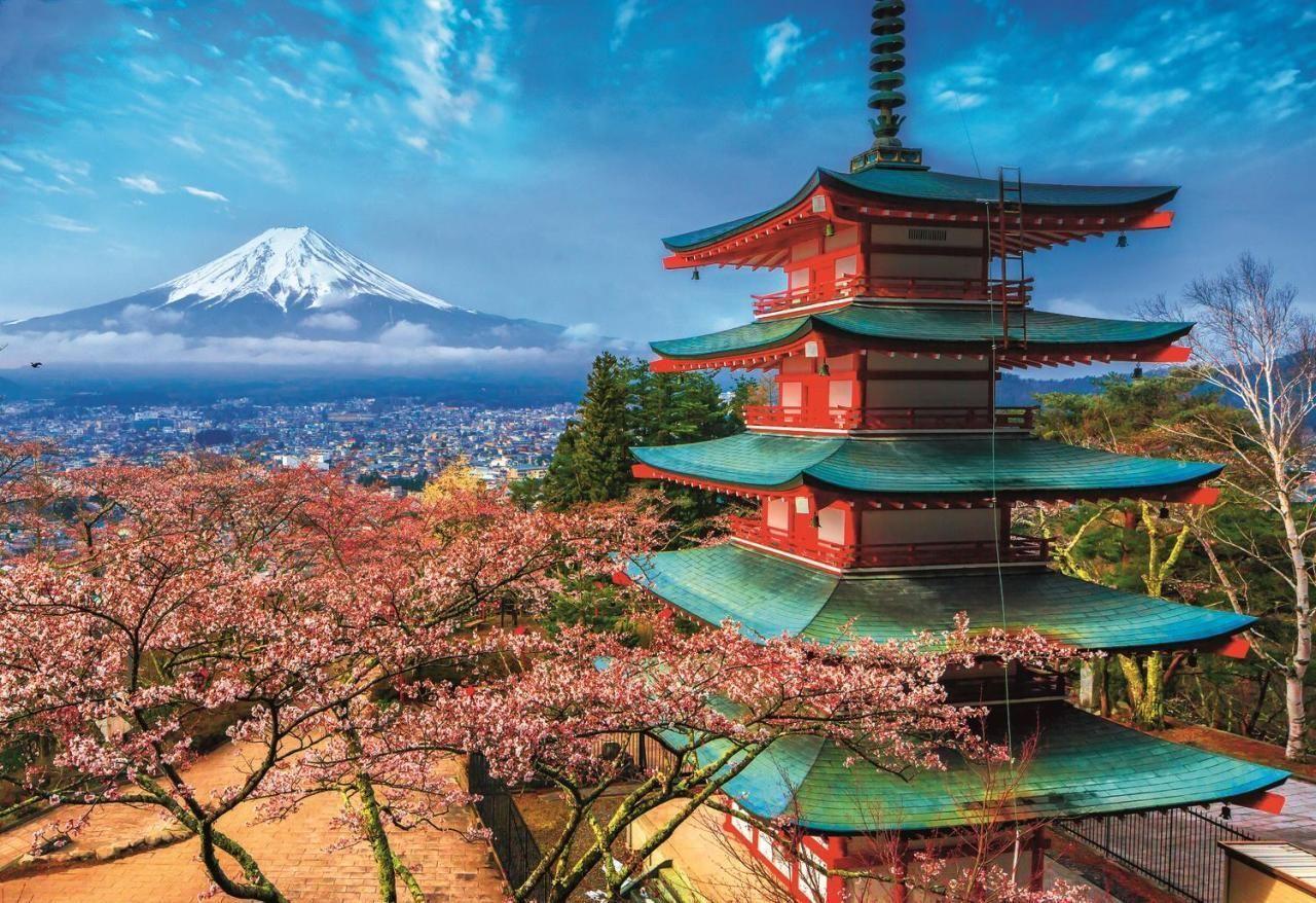 Trefl Puzzle Mount Fuji, Japan1500 Parça