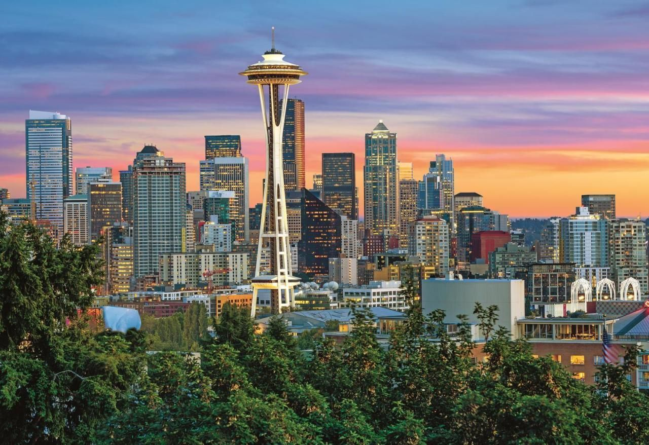 Trefl Puzzle Space Needle, Seattle 1500 Parça