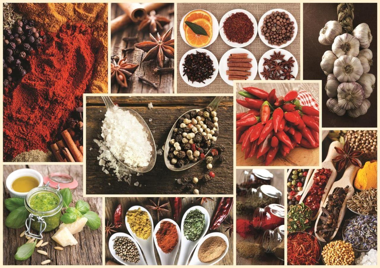 Trefl Puzzle Spices, Collage 1000 Parça