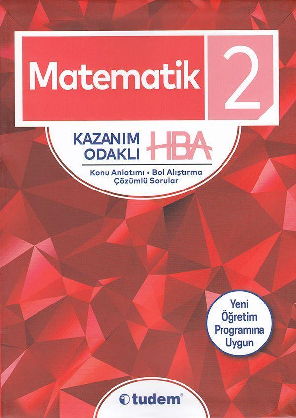 Tudem 2. Sınıf Matematik Kazanım Odaklı HBA Konu Anlatımı Çözümlü Sorular