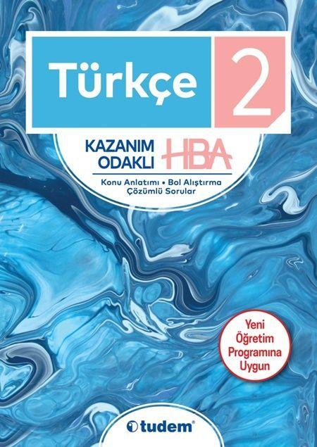 Tudem Yayınları 2. Sınıf Türkçe Kazanım Odaklı HBA