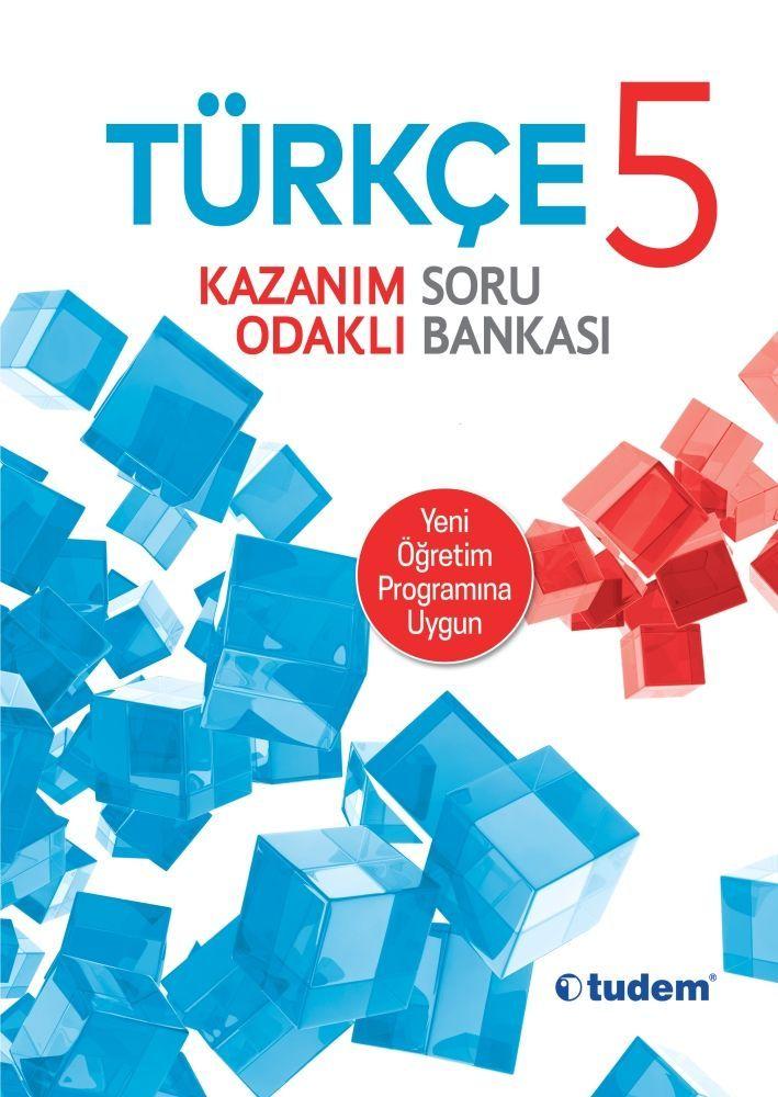 Tudem Yayınları 5. Sınıf Türkçe Kazanım Odaklı Soru Bankası