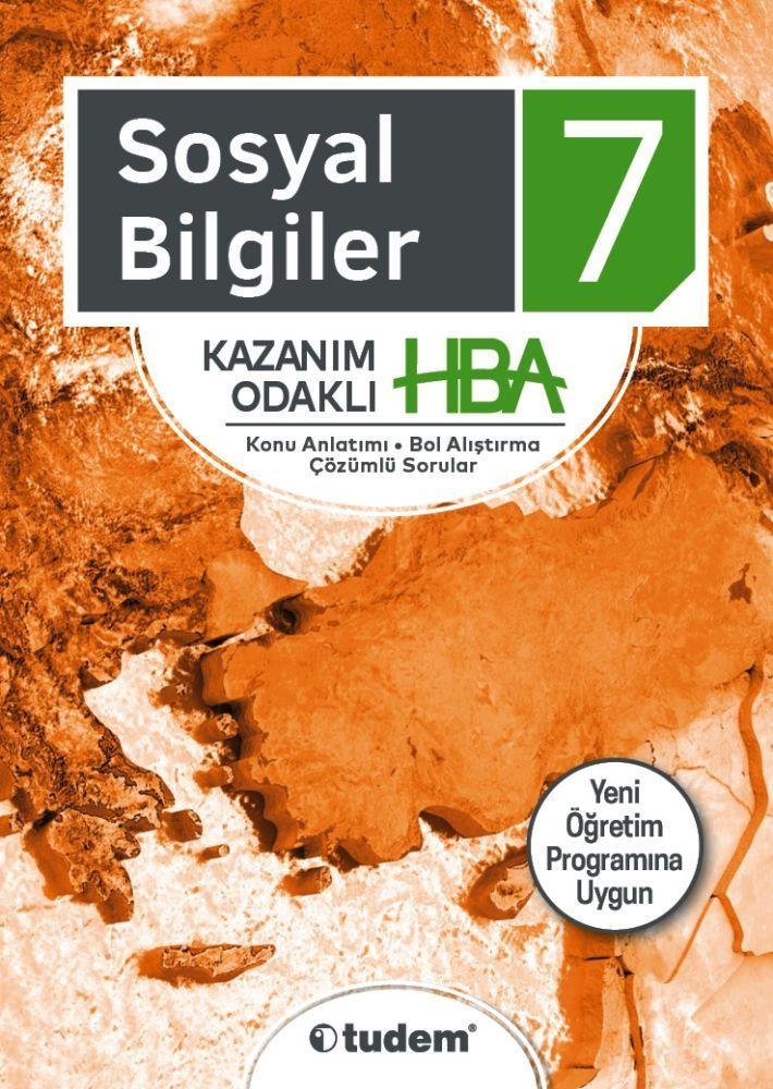 Tudem Yayınları 7. Sınıf Sosyal Bilgiler Kazanım Odaklı HBA