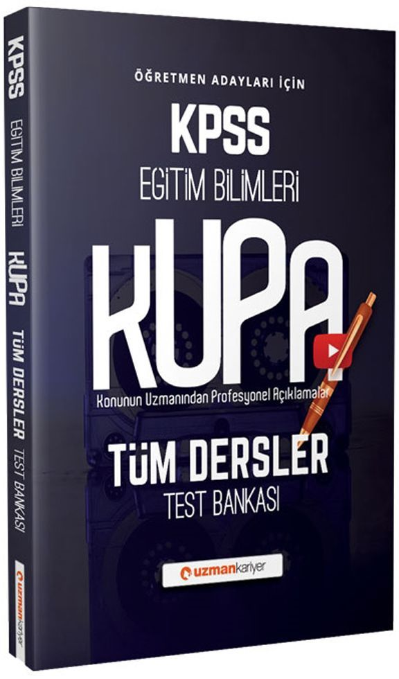 Uzman Kariyer KPSS Eğitim Bilimleri Kupa Tüm Dersler Test Bankası