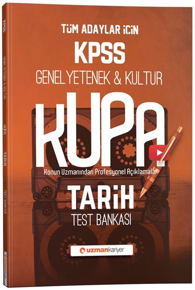 Uzman Kariyer KPSS Genel Yetenek Genel Kültür Kupa Tarih Test Bankası