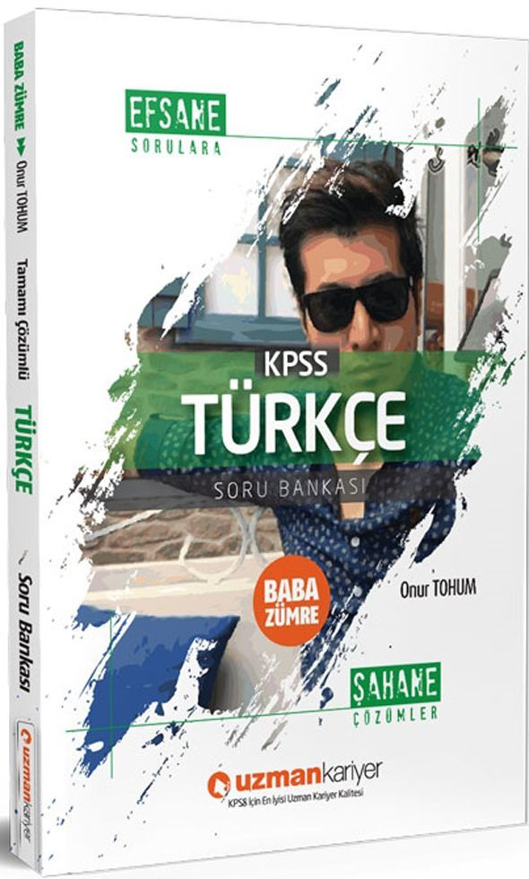Uzman Kariyer KPSS Türkçe Baba Zümre Soru Bankası