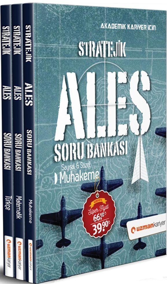 Uzman Kariyer Stratejik ALES Soru Bankası