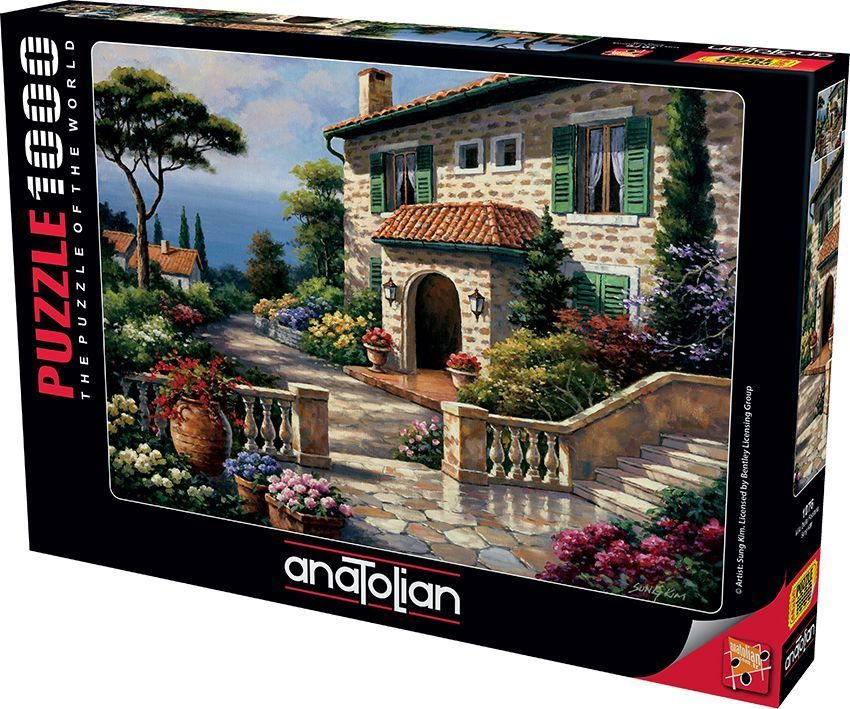 Villa Delle Fontana   1000 Parça Puzzle - Yapboz
