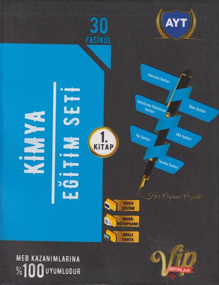 Vip Yayınları AYT Kimya Eğitim Seti 1. Kitap