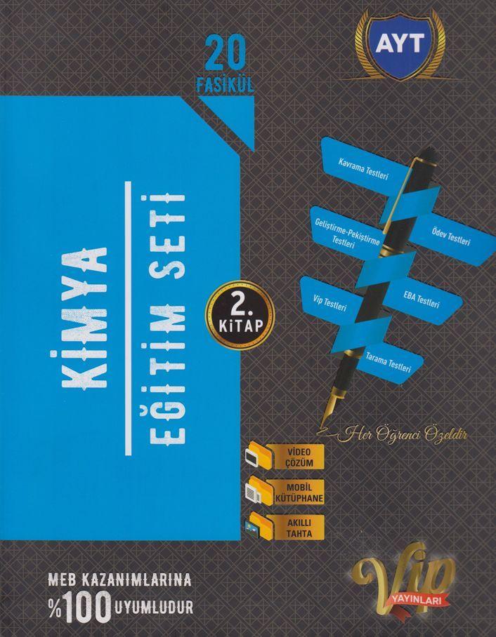 Vip Yayınları AYT Kimya Eğitim Seti 2. Kitap