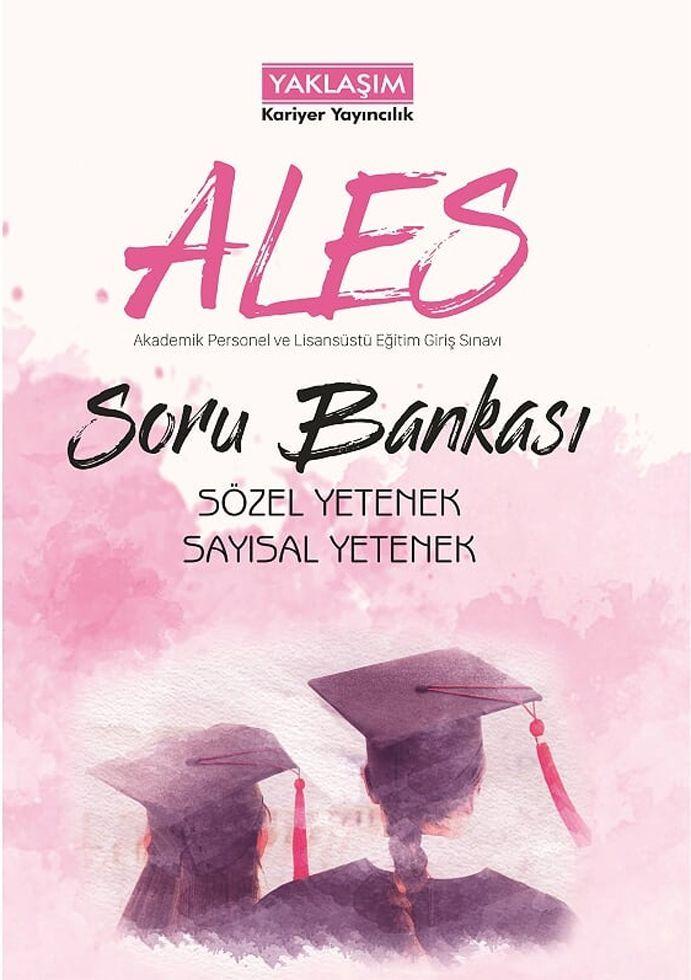 Yaklaşım Kariyer Yayınları ALES Sayısal Sözel Yetenek Soru Bankası