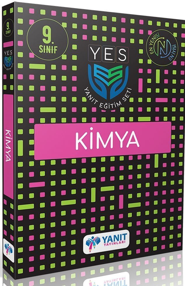 Yanıt Yayınları 9. Sınıf Kimya Yes Serisi