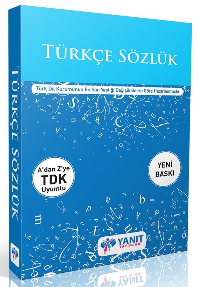 Yanıt Yayınları Türkçe Sözlük