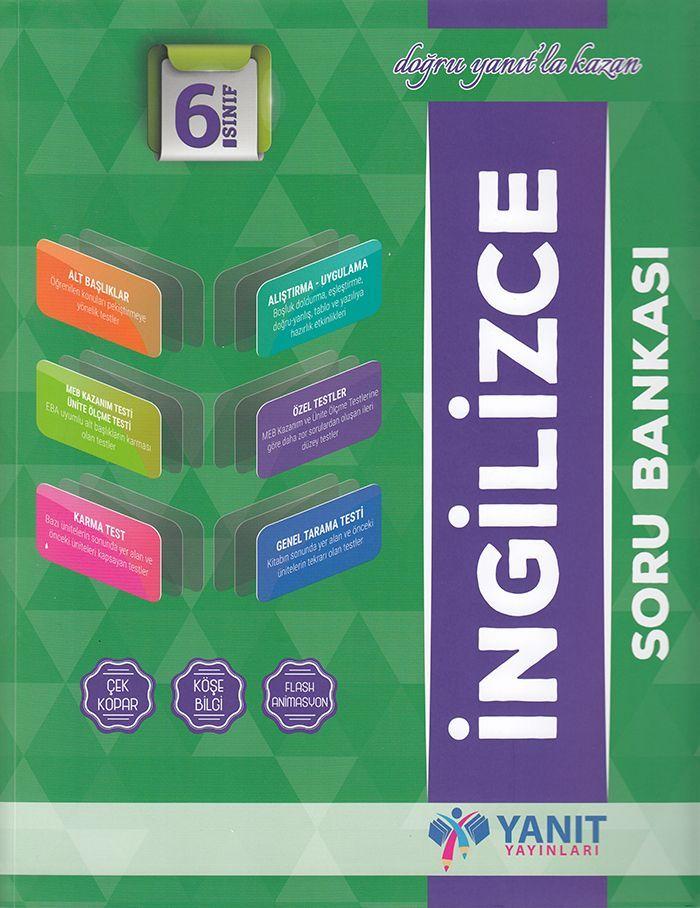 Yanıt Yayınları 6. Sınıf İngilizce Soru Bankası