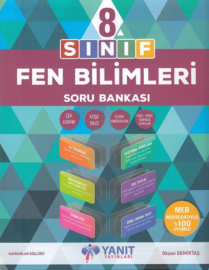Yanıt Yayınları 8. Sınıf Fen Bilimleri Soru Bankası