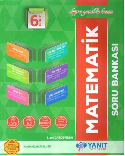 Yanıt Yayınları 6. Sınıf Matematik Soru Bankası