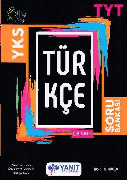 Yanıt Yayınları TYT Türkçe Çek Kopar Soru Bankası