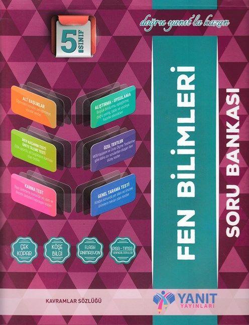 Yanıt Yayınları 5. Sınıf Fen Bilimleri Soru Bankası
