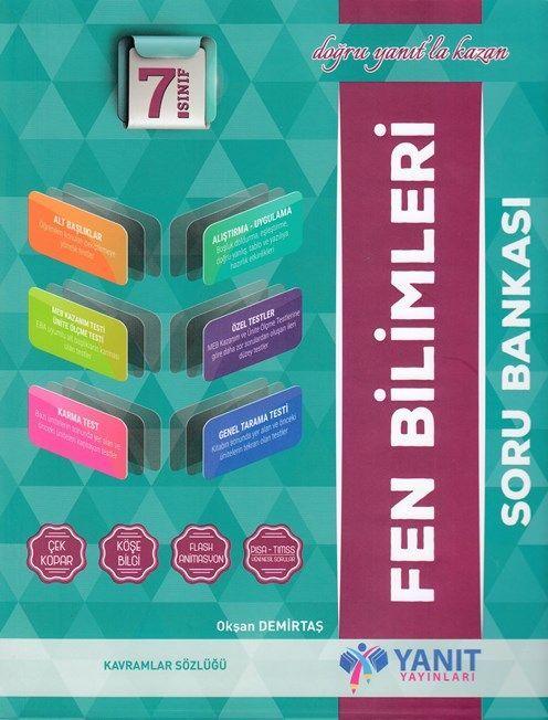 Yanıt Yayınları 7. Sınıf Fen Bilimleri Soru Bankası