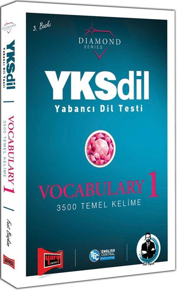 Yargı Yayınları YKSDİL Yabancı Dil Testi Vocabulary 1