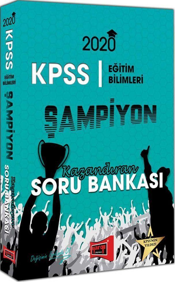 Yargı Yayınları 2020 KPSS Eğitim Bilimleri ŞAMPİYON Kazandıran Soru Bankası