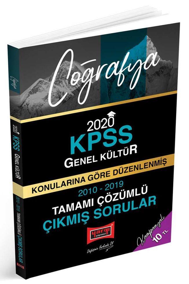 Yargı Yayınları 2020 KPSS Coğrafya Konularına Göre Düzenlenmiş Tamamı Çözümlü Çıkmış Sorular