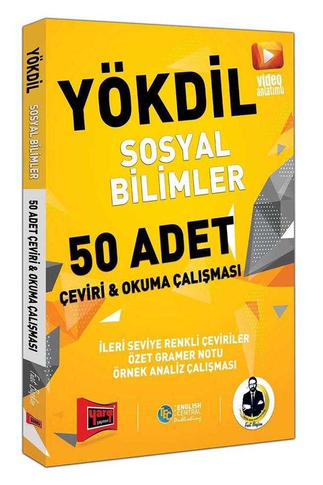 Yargı Yayınları YÖKDİL Sosyal Bilimler 50 Adet Çeviri ve Okul Çalışması