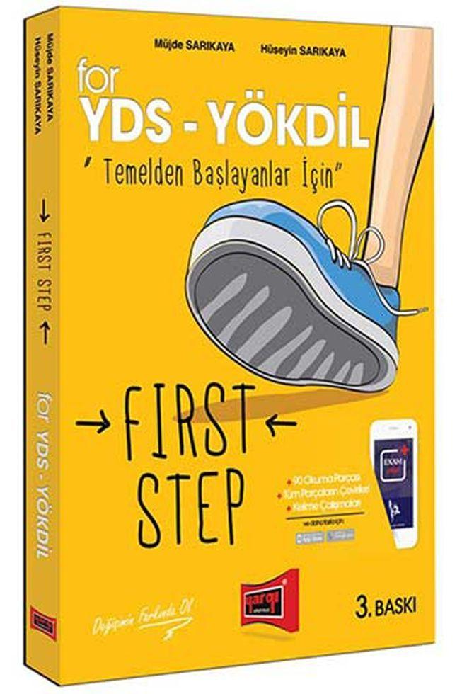Yargı Yayınları YDS YÖKDİL Temelden Başlayanlar İçin First Step 3. Baskı