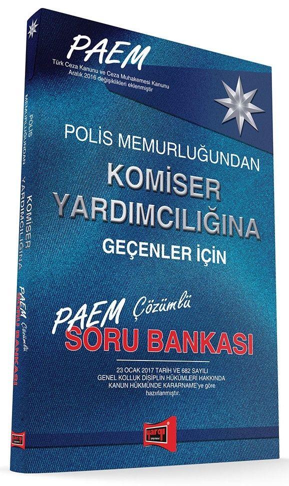 Yargı Yayınları 2017 Paem Komiser Yardımcılığına Geçenler İçin Çözümlü Soru Bankası