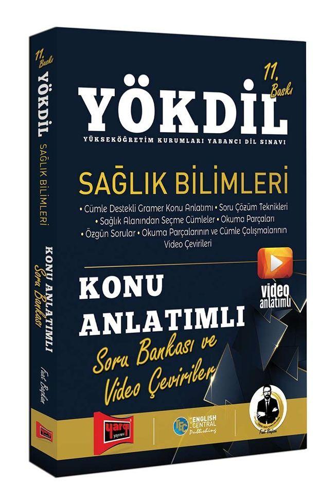 Yargı Yayınları YÖKDİL Sağlık Bilimleri Konu Anlatımlı Soru Bankası ve Video Çeviriler 11. Baskı