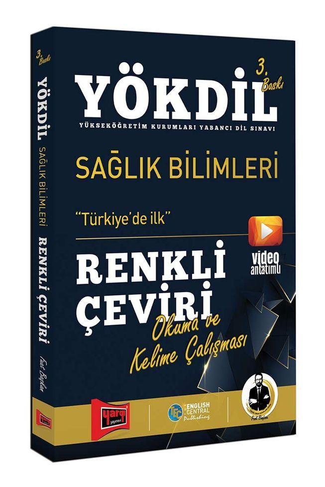 Yargı Yayınları YÖKDİL Sağlık Bilimleri Renkli Çeviri 3. Baskı
