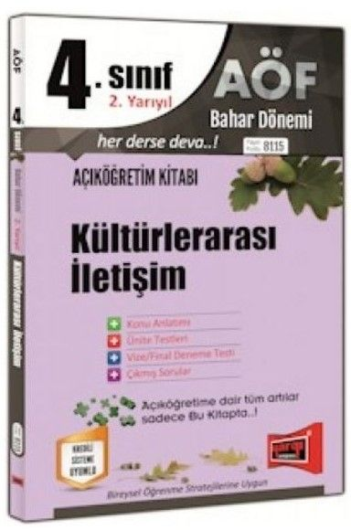 Yargı Yayınları 4. Sınıf 8. Yarıyıl Kültürlerarası İletişim 8115
