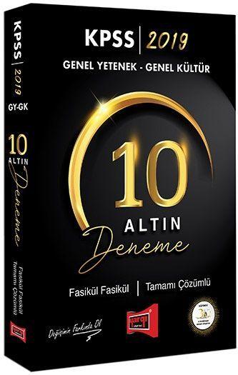 Yargı Yayınları 2019 KPSS Genel Yetenek Genel Kültür Fasikül Fasikül Tamamı Çözümlü 10 Deneme