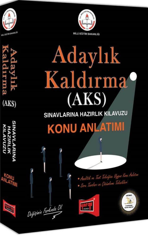 Yargı Yayınları MEB Adaylık Kaldırma (AKS) Sınavlarına Hazırlık Kılavuzu Konu Anlatımı