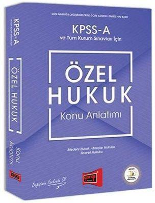 Yargı Yayınları KPSS A Grubu Özel Hukuk Konu Anlatımı