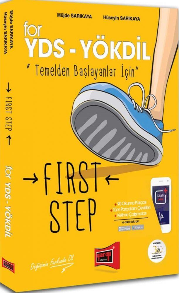 Yargı Yayınları YDS YÖKDİL Temelden Başlayanlar İçin First Step