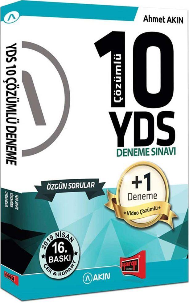 Yargı Yayınları YDS 10 Çözümlü Deneme Sınavı