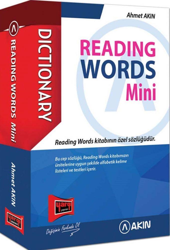 Yargı Yayınları Reading Words Mini Dictionary