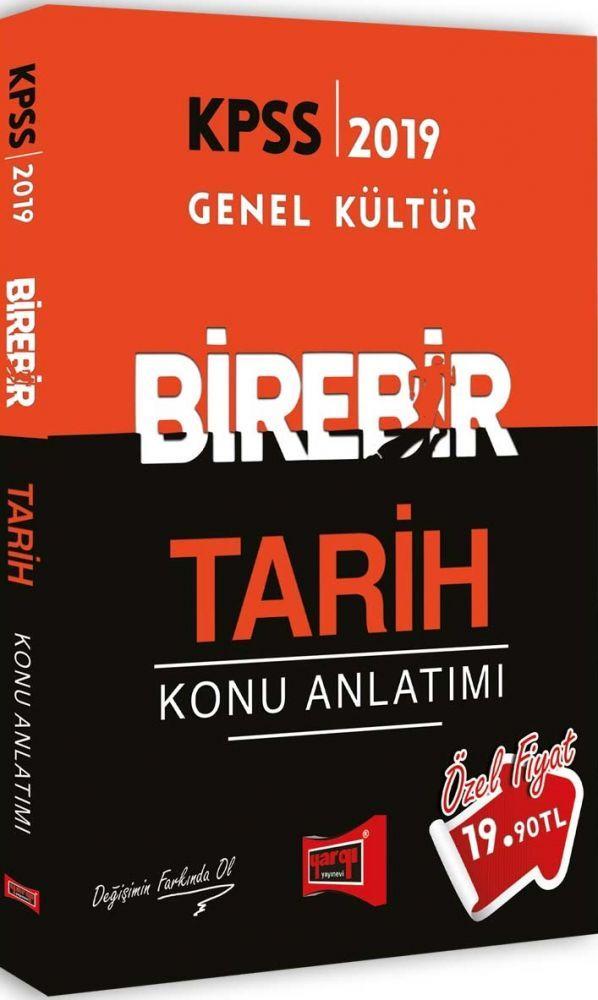 Yargı Yayınları 2019 KPSS BİREBİR Tarih Konu Anlatımı