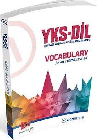 Yargı Yayınları YKS DİL Vocabulary for YDS YÖKDİL YKSDİL Kelime Çalışma ve Kelime Soru Bankası