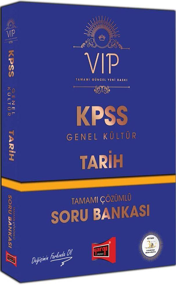 Yargı Yayınları KPSS Genel Kültür Tarih VIP Tamamı Çözümlü Soru Bankası