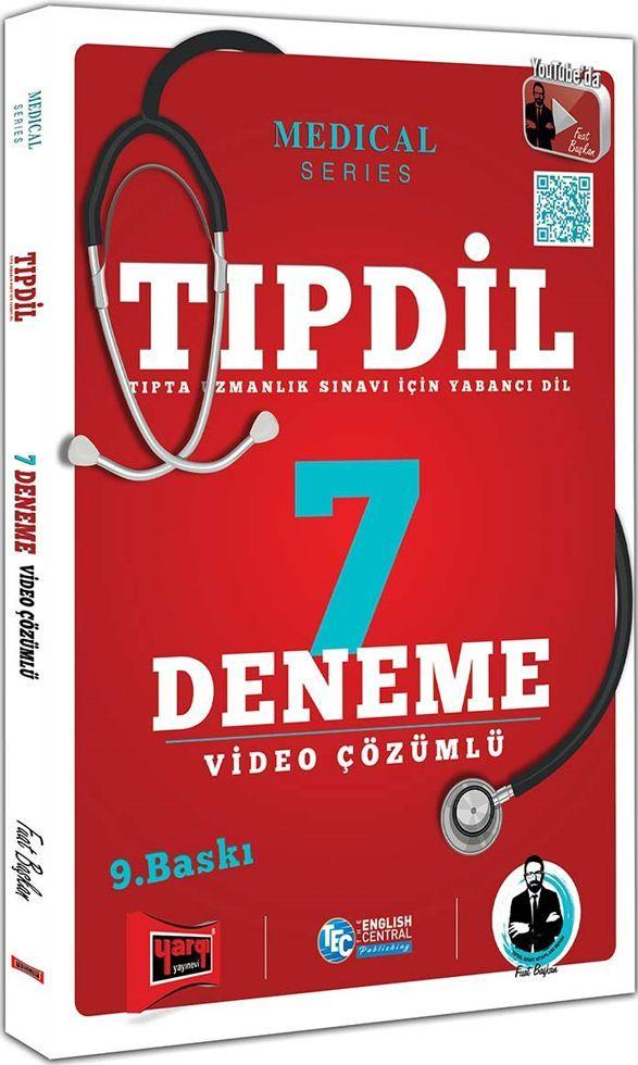 Yargı Yayınları TIPDİL Video Çözümlü 7 Deneme Sınavı 9. Baskı