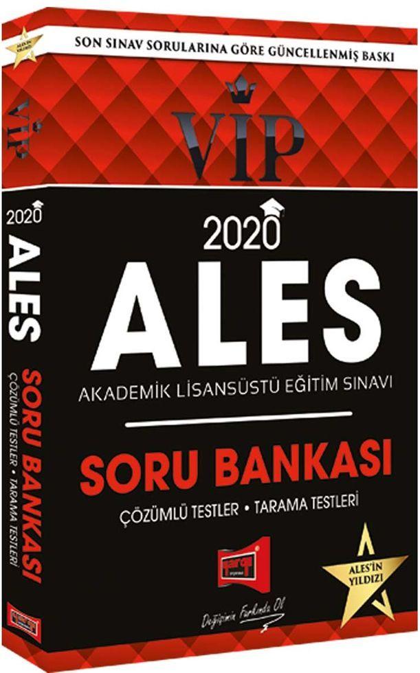 Yargı Yayınları 2020 ALES VIP Soru Bankası