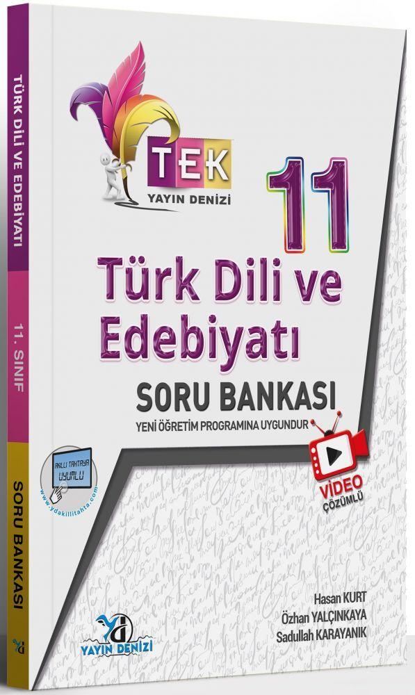 Yayın Denizi 11. Sınıf TEK Serisi Video Çözümlü Türk Dili ve Edebiyatı Soru Bankası