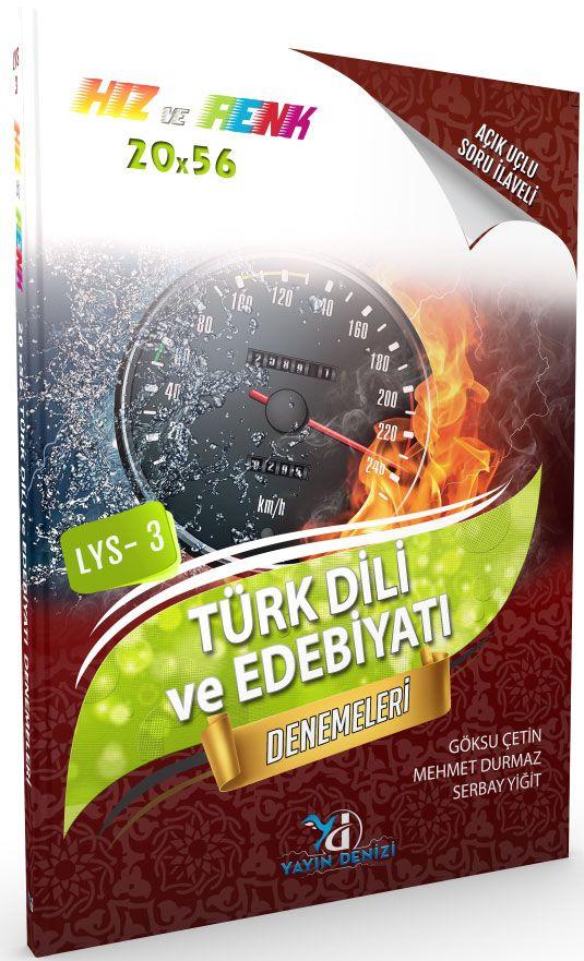 Yayın Denizi LYS 3 Hız ve Renk Türk Dili ve Edebiyatı 20X56 Denemeleri